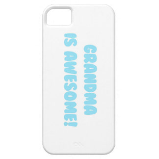 My Grandma is Awesome in Blue iPhone SE/5/5s Case