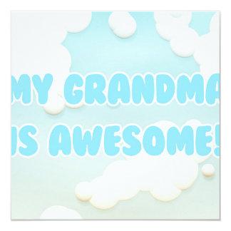 My Grandma is Awesome Invitation