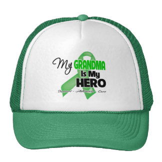 My Grandma is My Hero - Kidney Cancer Trucker Hat