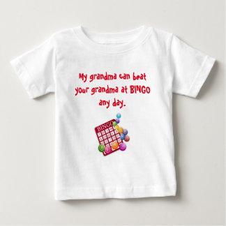 My Grandma is the Best BINGO Player Baby T-Shirt