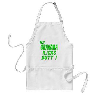 My Grandma Kicks Butt! Apron