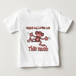 My grandma loves me this much baby T-Shirt