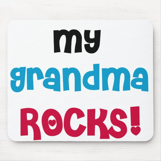 My Grandma Rocks Mouse Pad
