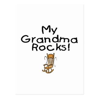 My Grandma Rocks! Postcard