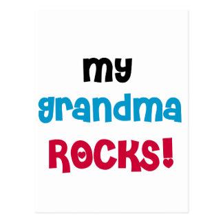 My Grandma Rocks T-shirts and Gifts Postcard