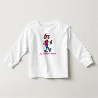 My Grandma Rocks Toddler Long-Sleeve Shirt
