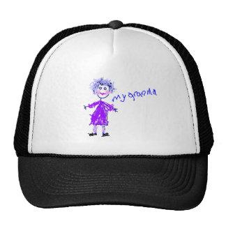 My Grandma - s Drawing Trucker Hat