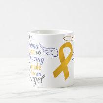 My Grandmother An Angel - Appendix Cancer Coffee Mug