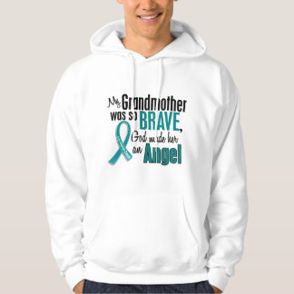 My Grandmother Is An Angel 1 Ovarian Cancer Hoodie