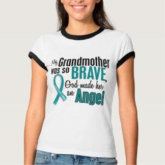 My Grandmother Is An Angel 1 Ovarian Cancer T-Shirt