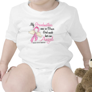 My Grandmother Is An Angel 2 Breast Cancer Shirts
