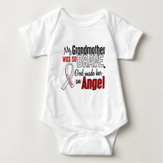 My Grandmother Is An Angel Lung Cancer Baby Bodysuit