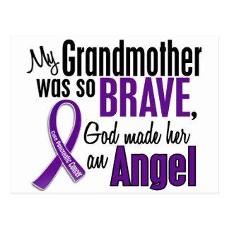 My Grandmother Is An Angel Pancreatic Cancer Postcard