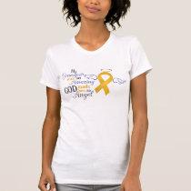My Grandpa an Angel - Appendix Cancer T-Shirt