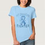 My Grandpa is a Fighter Light Blue T-shirts