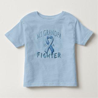 My Grandpa is a Fighter Light Blue Toddler T-shirt
