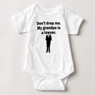 My Grandpa Is A Lawyer Baby Bodysuit