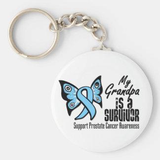My Grandpa is a Survivor - Prostate Cancer Key Chain