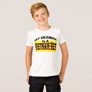 My Grandpa is a Vietnam Vet Shirt Kids