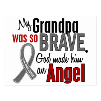 My Grandpa Is An Angel 1 Brain Cancer Post Cards