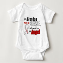 My Grandpa Is An Angel Lung Cancer Baby Bodysuit