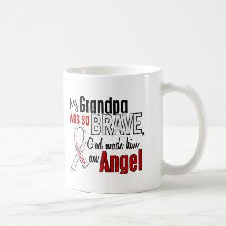 My Grandpa Is An Angel Lung Cancer Mug