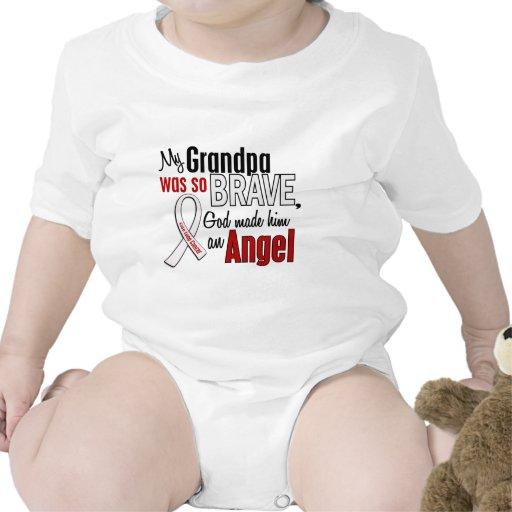 My Grandpa Is An Angel Lung Cancer T Shirt