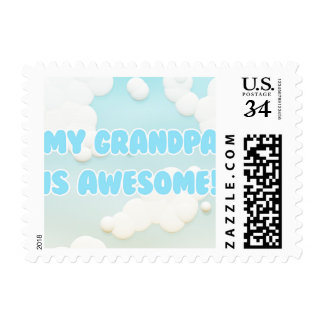 My Grandpa is Awesome Postage