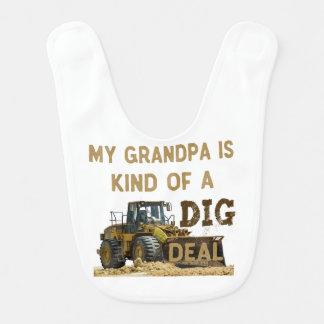 My Grandpa is Kind of a DIG Deal Bib