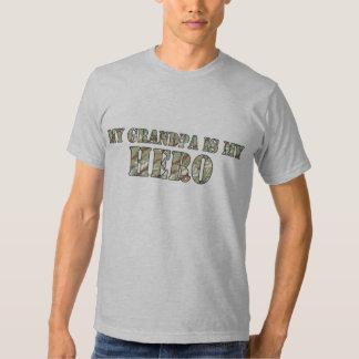 My Grandpa Is My Hero T Shirt