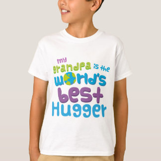 My Grandpa is the Best Hugger in the World T-Shirt