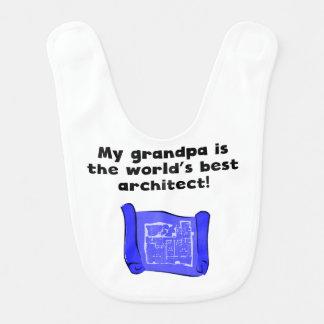 My Grandpa Is The Word's Best Architect Bib