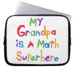 My Grandpa Math Superhero T-shirts and Gifts Computer Sleeves