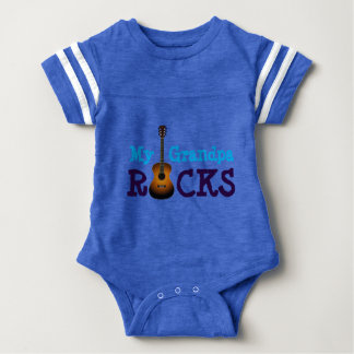 """My Grandpa Rocks!"" Baby Bodysuit"