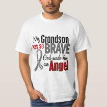 My Grandson Is An Angel 1 Brain Cancer T-Shirt