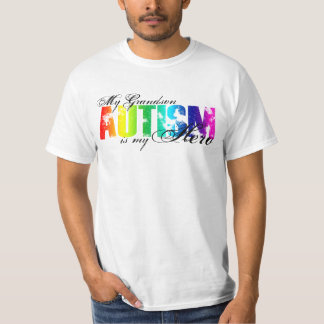 My Grandson My Hero - Autism T-Shirt
