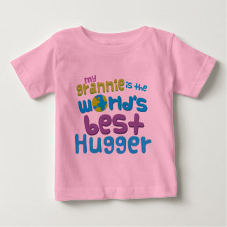 My Grannie is the Best Hugger in the World Baby T-Shirt