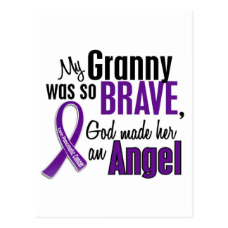 My Granny Is An Angel Pancreatic Cancer Postcard