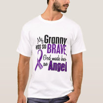 My Granny Is An Angel Pancreatic Cancer T-Shirt