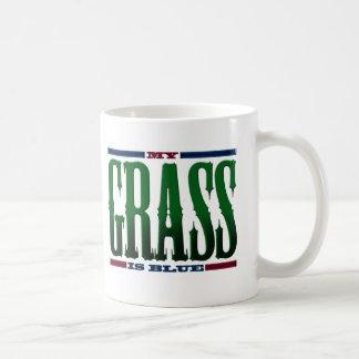 """My Grass Is Blue"" Coffee Mug"