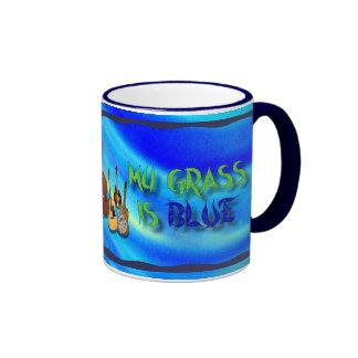 MY GRASS IS BLUE -MUG