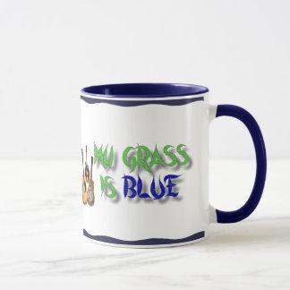 MY GRASS IS BLUE -MUG MUG