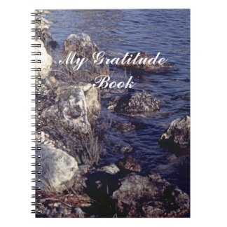 My Gratitude Book With Shore Scene