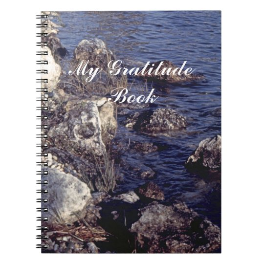 My Gratitude Book With Shore Scene