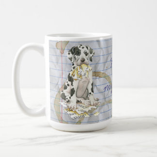 My Great Dane Ate my Lesson Plan Coffee Mug