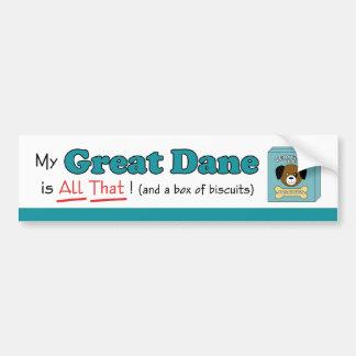 My Great Dane is All That! Bumper Sticker