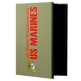 My Great Grandchildsons are Marines iPad Air Cover