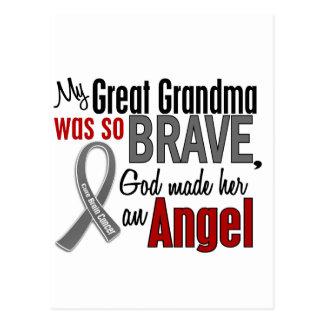 My Great Grandma Is An Angel 1 Brain Cancer Postcards