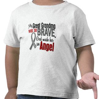 My Great Grandma Is An Angel 1 Brain Cancer Shirts