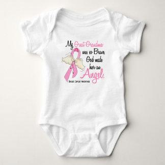 My Great Grandma Is An Angel 2 Breast Cancer Baby Bodysuit